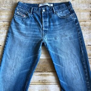 Diesel Industries Basic Jeans Sz 35 x 31 Italy